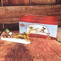 MINT RARE RETIRED Dept 56, Mickey Catching Some AIr, Disney Christmas Village