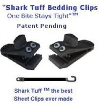 """Shark Tuff™ Sheet Clips 2 per pack ""One Bite Stays Tight"""