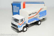 LION CAR LION TOYS DAF 2000 TRUCK DAKAR RALLY MIGHTY MAC EXCELLENT BOXED.