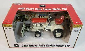 1/16 Ertl John Deere 140 Patio Lawn & Garden Tractor w Blade Precision Patio Red