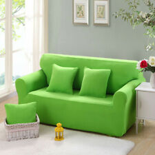 Spandex Stretch 2 Seater Sofa Cover Slipcover Protector Grass Green