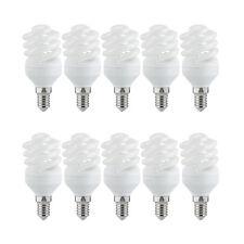 10 X Paulmann ESL Lampe à économie d'énergie Spiral 11W E14 Twist Blanc Froid