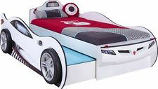 Autobett Cilek Coupe Racer mit Gästebett weiß von CILEK Kinderbett 90x190 90x180