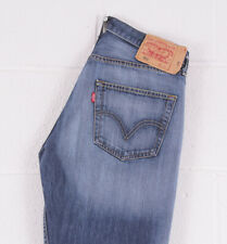 Vintage LEVI'S 501 Blue Straight Fit Men's Jeans 32W 32L 32/32 /BC034