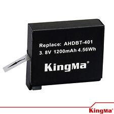 KingMa Gopro Accessories 1200mAh Li - ion Battery for GoPro Hero 4 - AHDBT-401