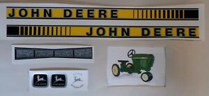 DECAL SET GEN II 50 Series John Deere Toy Pedal Tractor Computer Cut Free Ship