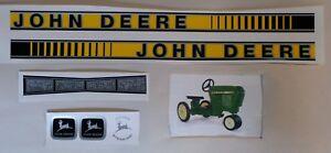 DECAL SET GEN II 50 Series John Deere Toy Pedal Tractor Computer Cut Free Ship