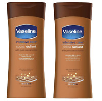 Vaseline Lotion Cream Intensive Care Cocoa Radiant 200 Ml PACK OF 2