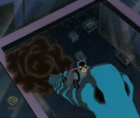 Batman Animated Series Original Production Cel Catwoman-Catwalk