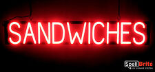 SpellBrite Ultra-Bright SANDWICHES Sign Neon look LED performance