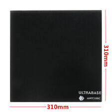 310x310mm Ultrabase Glass Plate Surface Platform for 3D Printer MK2/3 Heated Bed