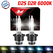 2x D2S D2R OEM HID Xenon Headlight Bulbs Replace Osram or Philips 12V 35W 6000K