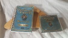Baldur's Gate II: Shadows of Amn PC Jewel Case Discs and Manual