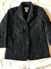 Vintage Mens Issey Miyake Pleated Black Down Jacket S