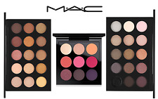 NEW AND 100% Authentic LOT OF 3 MAC EYE SHADOW Palettes- WARM, COOL & Red-Hot
