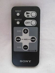 Sony RM-X58 Car Audio Stereo Remote Control