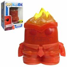 ANGER Crystal Funko Pop Inside Out #136 Figure Entertainment Earth Exclusive