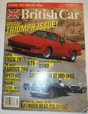 British Car Magazine Trick TR7 & Project GT6 December 1992 122314R2