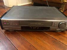 JVC S-VHS hr-vp720u Videorecorder HiFi 4 Head Ultra Spec Drive mit Fernbedienung 1995