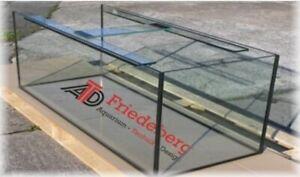Aquariumbecken 100x50x60 cm Rechteckform 10mm Floatglas