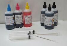 Bulk 600ml refill ink for Brother LC41 LC51 LC61 LC65 LC71 LC75 LC103 LC203