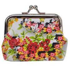 Women's Girls Ladies Coin Purses Fashion Case Wallet Floral Design Uk Seller