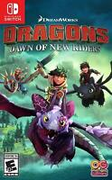 Dragons Dawn of New Riders Nintendo Switch Brand New Sealed