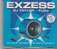 DJ Taylor&Flow-Exzess cd maxi single 7 tracks