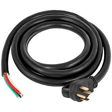 15 50a Rv Camp Power Cord Generator Cord 63 81 Awg Nema 14 50p To Bare Wire