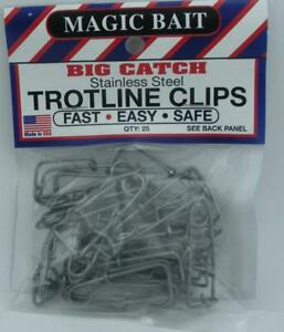 Magic 777-12 Cebo Inoxidable Trotline Broche 25CT 23579