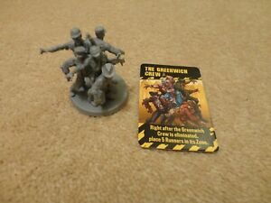 Zombicide 2nd Edition - Kickstarter Exclusive Abomination - The Greenwich Crew