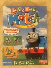 Fisher Price Thomas & Friends MAKE A MATCH Preschool Game