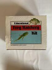 Nasco Frog Hatchery Kit Educational Home School Science Tadpoles Growing Tv Prop