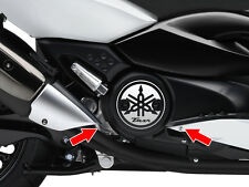 Kit 2 diapason adesivi Carter Yamaha TMax TMAX 500 530 stickers decals racing