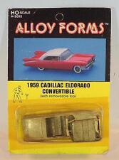 Alloy Forms 1/87 H0 Metal Kit 2032 1959 Cadillac ElDorado Convertible OVP #2580