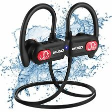 Écouteurs Bluetooth sans fil Sport IPX7 ETANChe avec Microphone Anti-bruit Sport