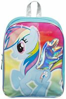 My Little Pony Backpack Girls MLP Rainbow Dash School Bag