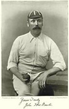 MIDDLESEX YORKSHIRE CRICKET. RAWLINS- all- rounder; fast bowler 1896 old print
