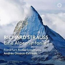 Richard Strauss: Eine Alpensinfonie - Frankfurt Radio Symph Andrés Or (NEW SACD)