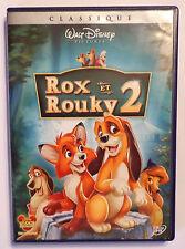 DVD WALT DISNEY / ROX ET ROUKY 2 - GRAND CLASSIQUE LOSANGE N° 89