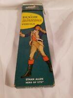 Vintage Dixon Ticonderoga Ethan Allen 1388 No 2 Pencil EMPTY box