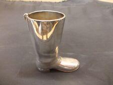 botte plaqué argent Grenadier Vintage Angleterre Boot Original