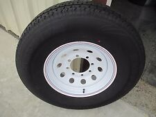 1 New ST 235/80R16 Cargo Max Radial Trailer Tire and Wheel 10 Ply 2358016 80 16