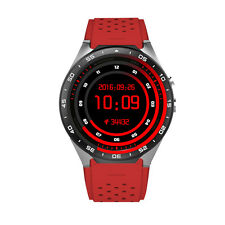 """KINGWEAR KW88 1.39"""" MTK6580 Quad Core 1.3GHZ Android 5.1 3G Smart Watch (Red)"""