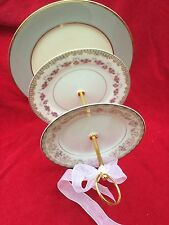 Pearl Rose Wedding Cake Stand 3 Tier Serving Tray