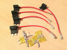 5x Standard Add A Circuit Fuse Box Holders Piggy Back Adaptor Car ATO ATC ACU