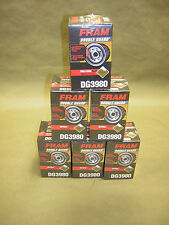 6x Fram DG3980  Extra Guard Oil Filter  W/ PFTE Engine Protectant  PF52,