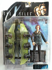 "La serie X una figura// FILES agente Scully Con Alien en Pod 6""/Sellado"