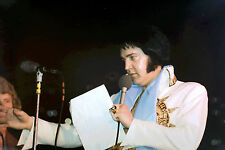 ELVIS PRESLEY IN MEXICAN SUNDIAL SUIT TCB RING LARGO MD 5/22/77 PHOTO CANDID #4