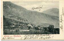 AUSTRIA 19..  c.ill. GRUSS  AUS  TSCHARS ann. NATURNS  aff.ta per Innsbruck